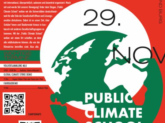 Public Climate School 25. – 29.11.19